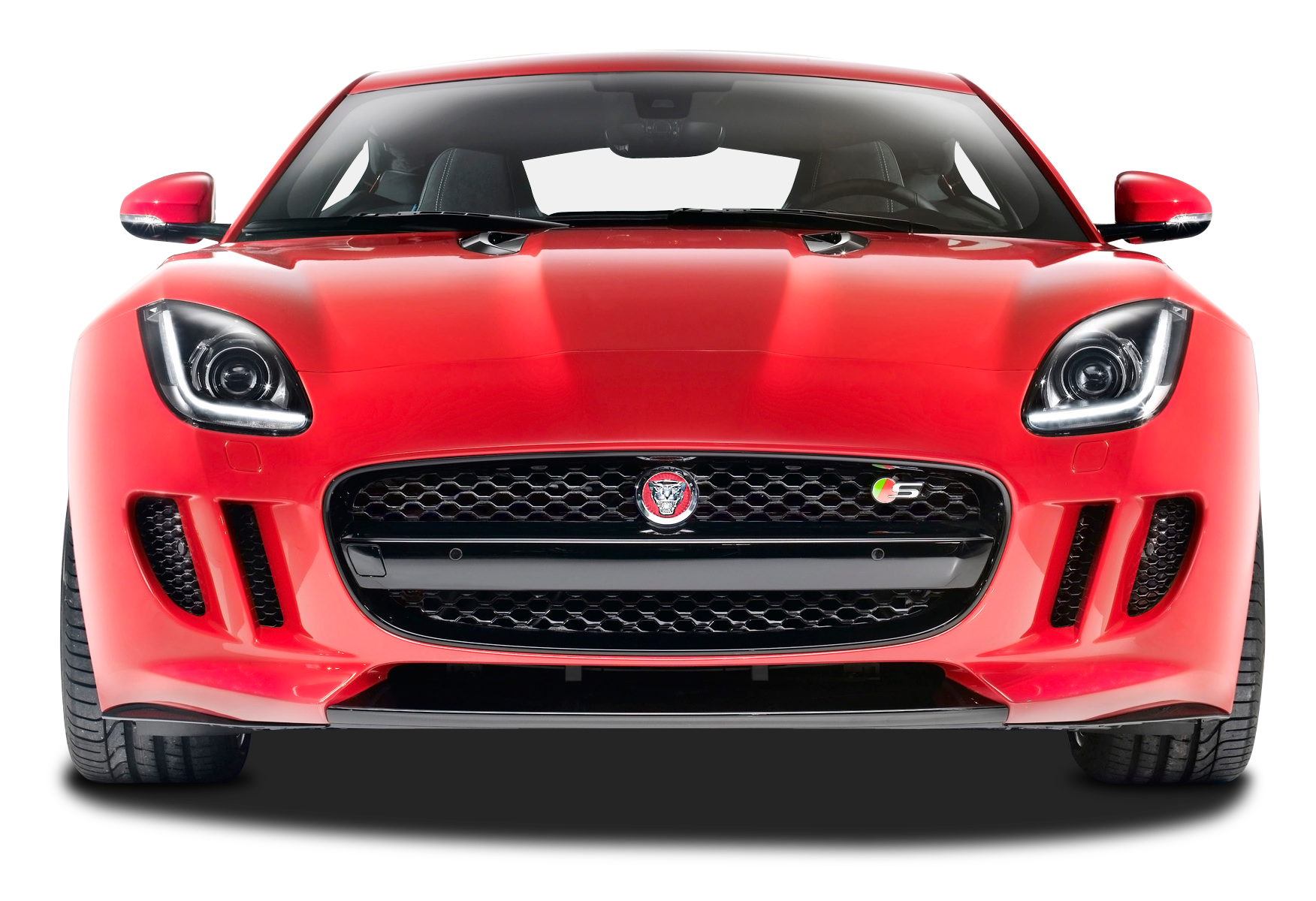 Front View Of Jaguar F Type R Car Png Image Purepng Free