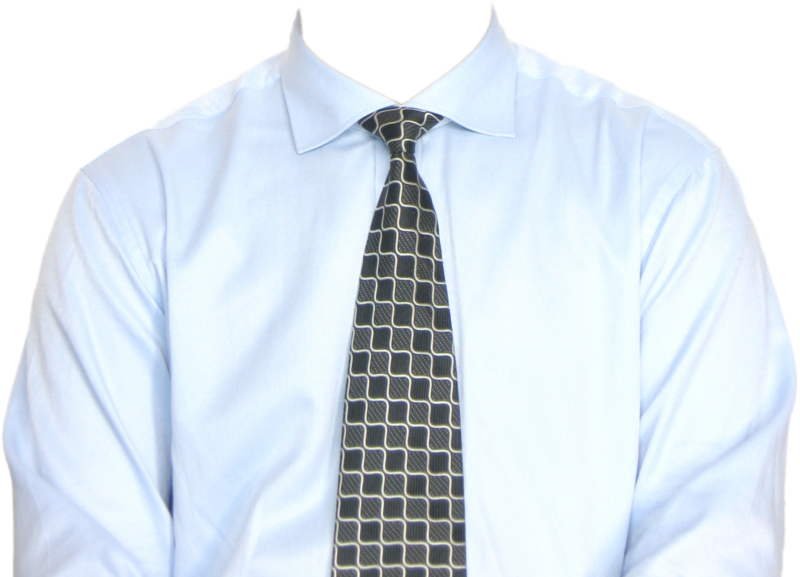 Full Length Formal Shirt With Tie Png Image Purepng Free