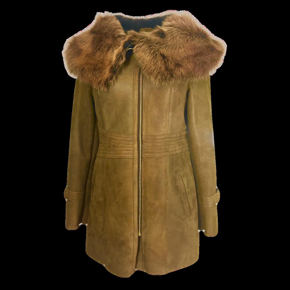 Fur Coat Brown