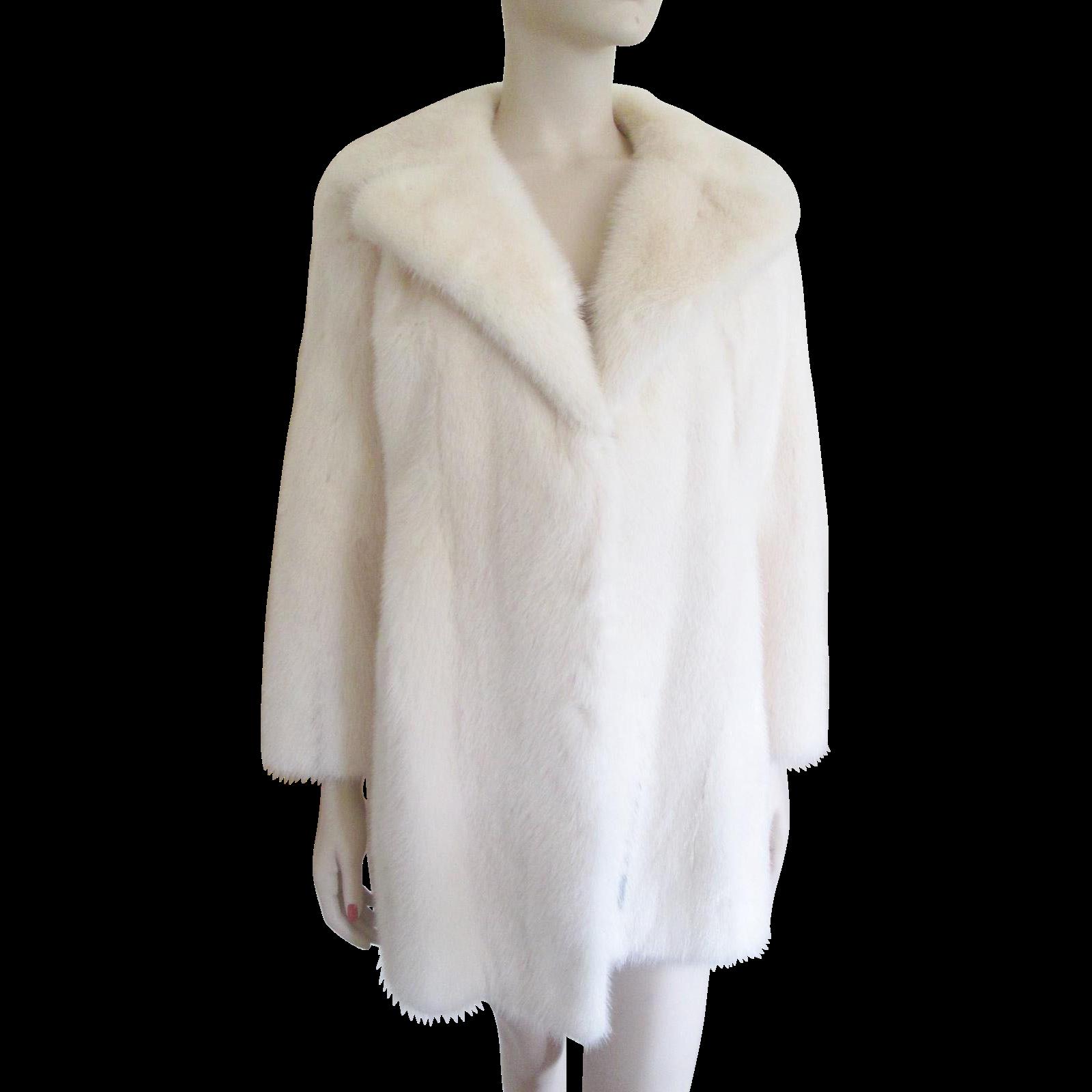 Fur Coats White