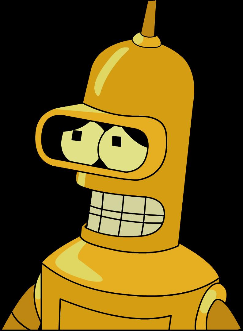Futurama Bender Gold