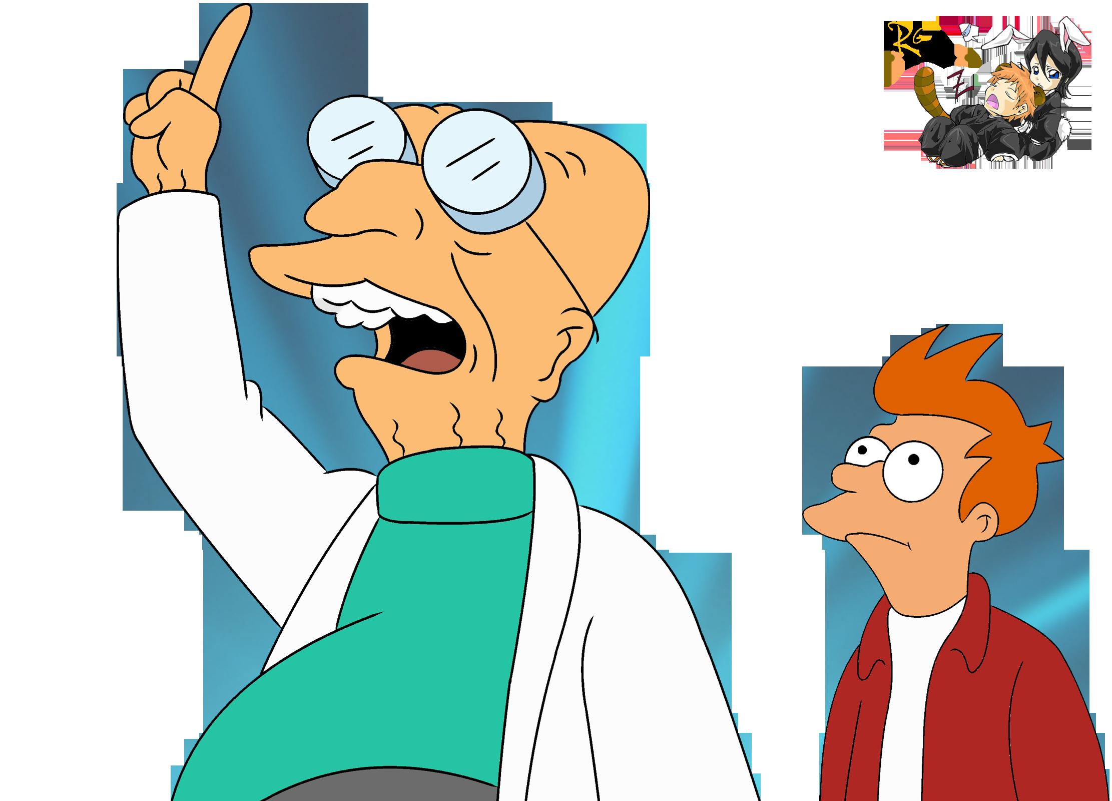 Futurama Fry Professor