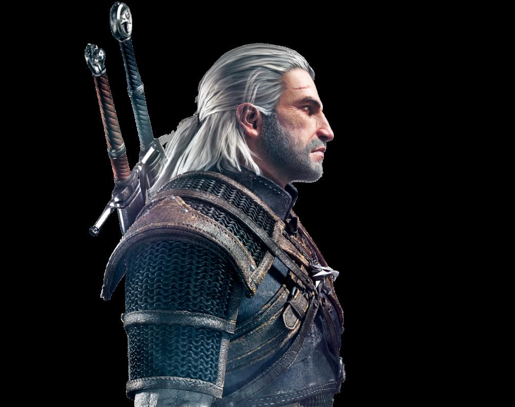 Geralt Of Rivia PNG Image