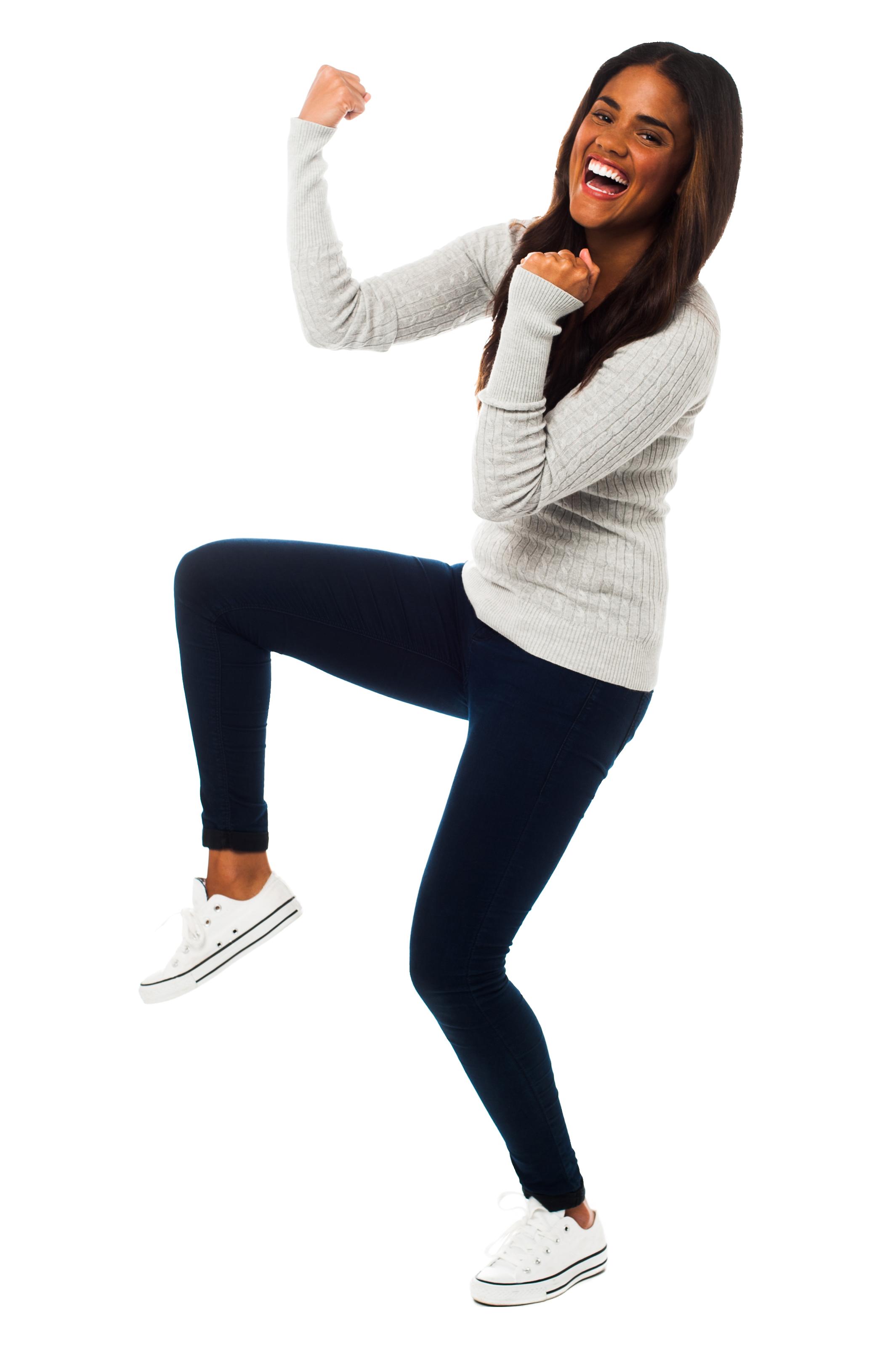 Girl Dancing PNG Image