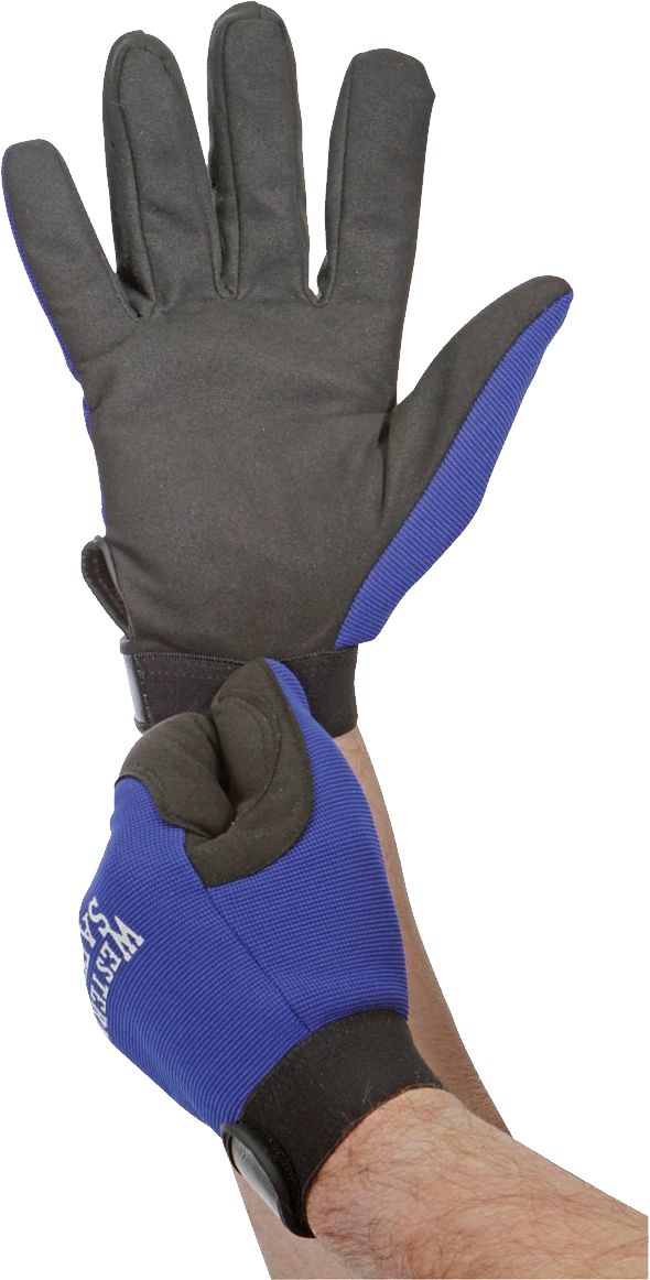 Glove On Hand PNG Image