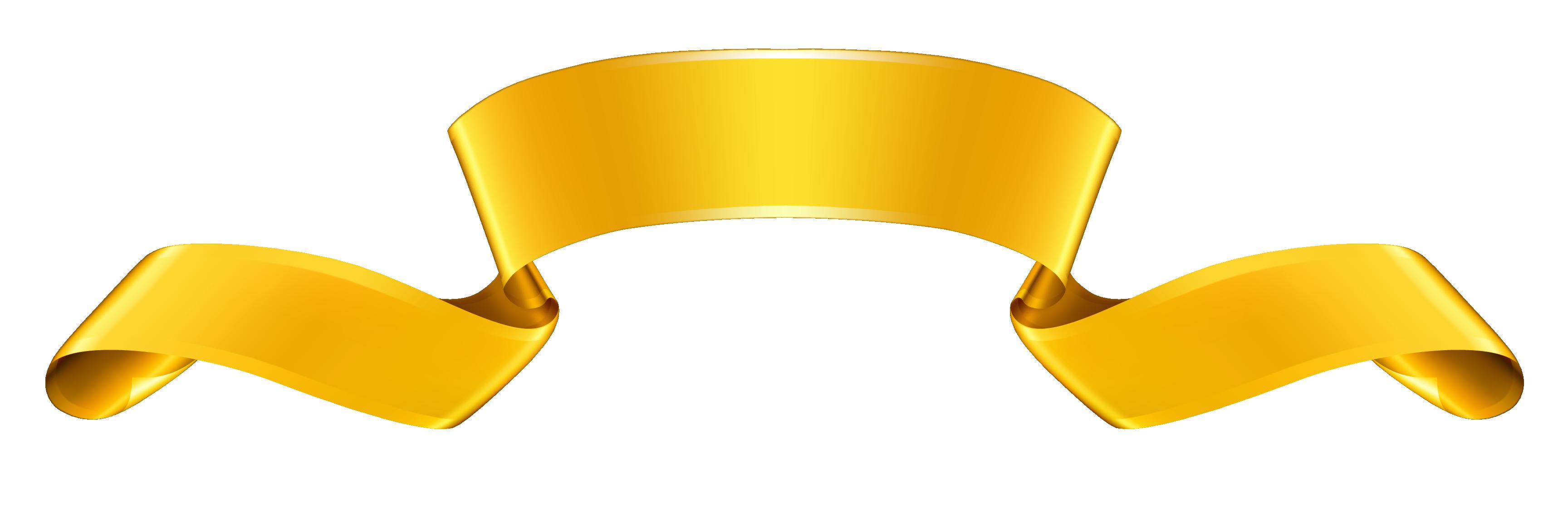 Gold Banner