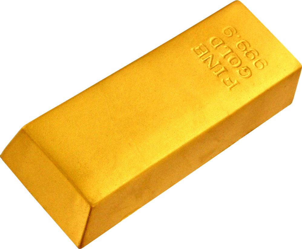 Gold Bar PNG Image