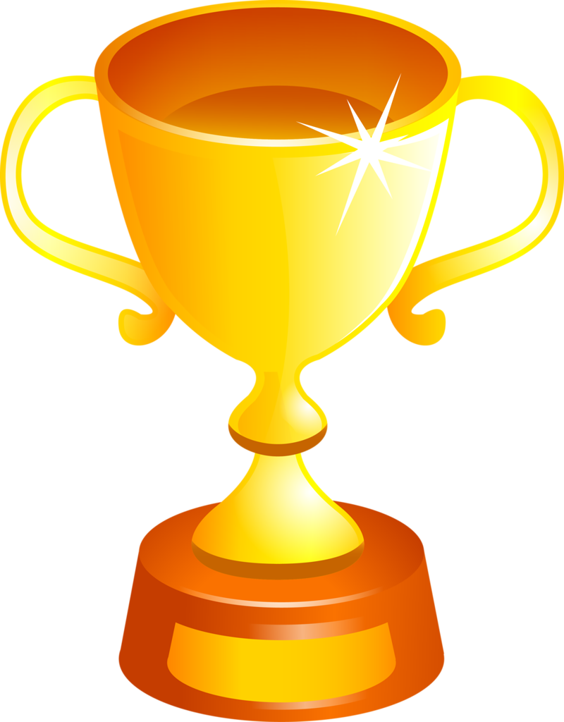 Golden Cup PNG Image