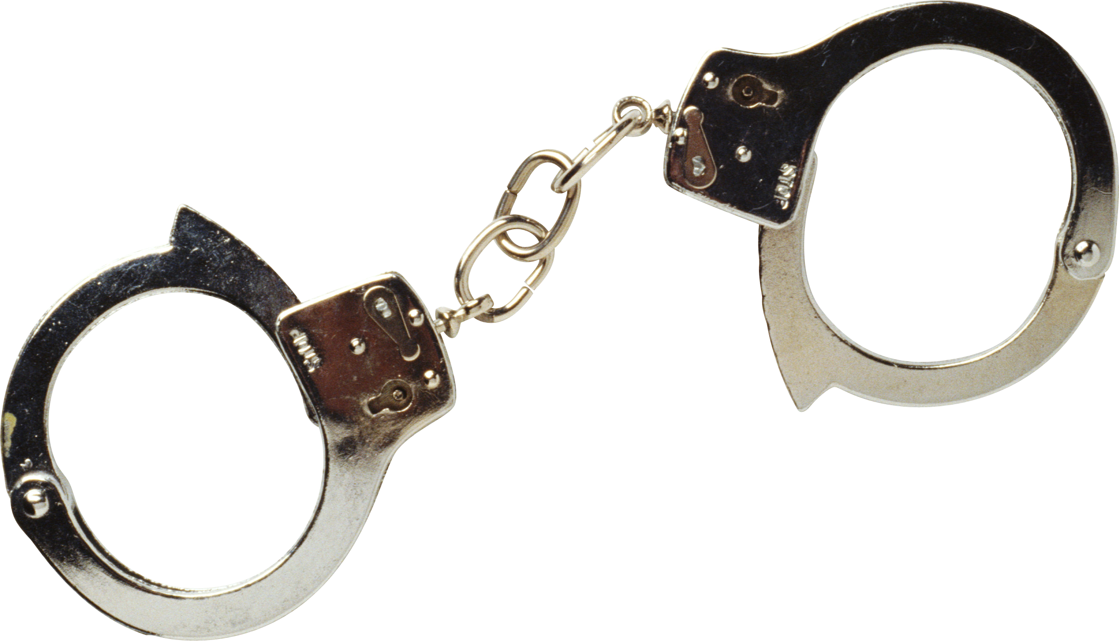 Golden Handcuff PNG Image