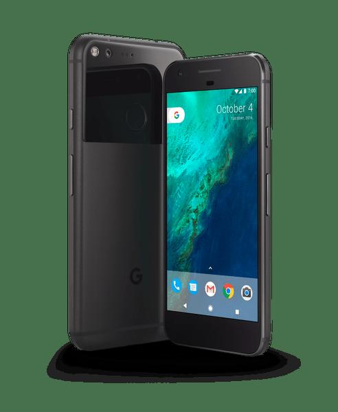 Google Pixel 1 sideways view PNG Image