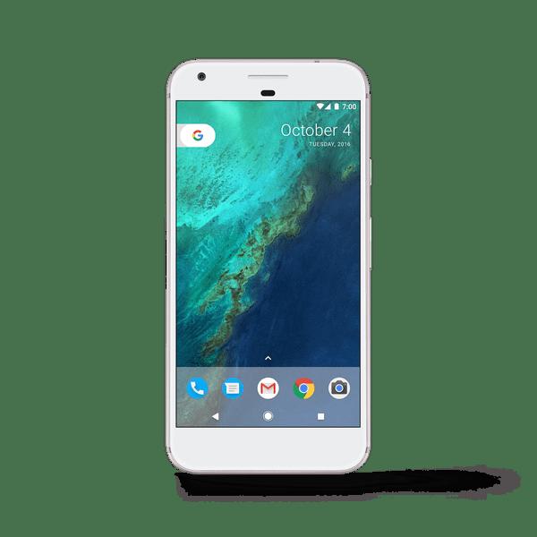 Google Pixel 1 White PNG Image