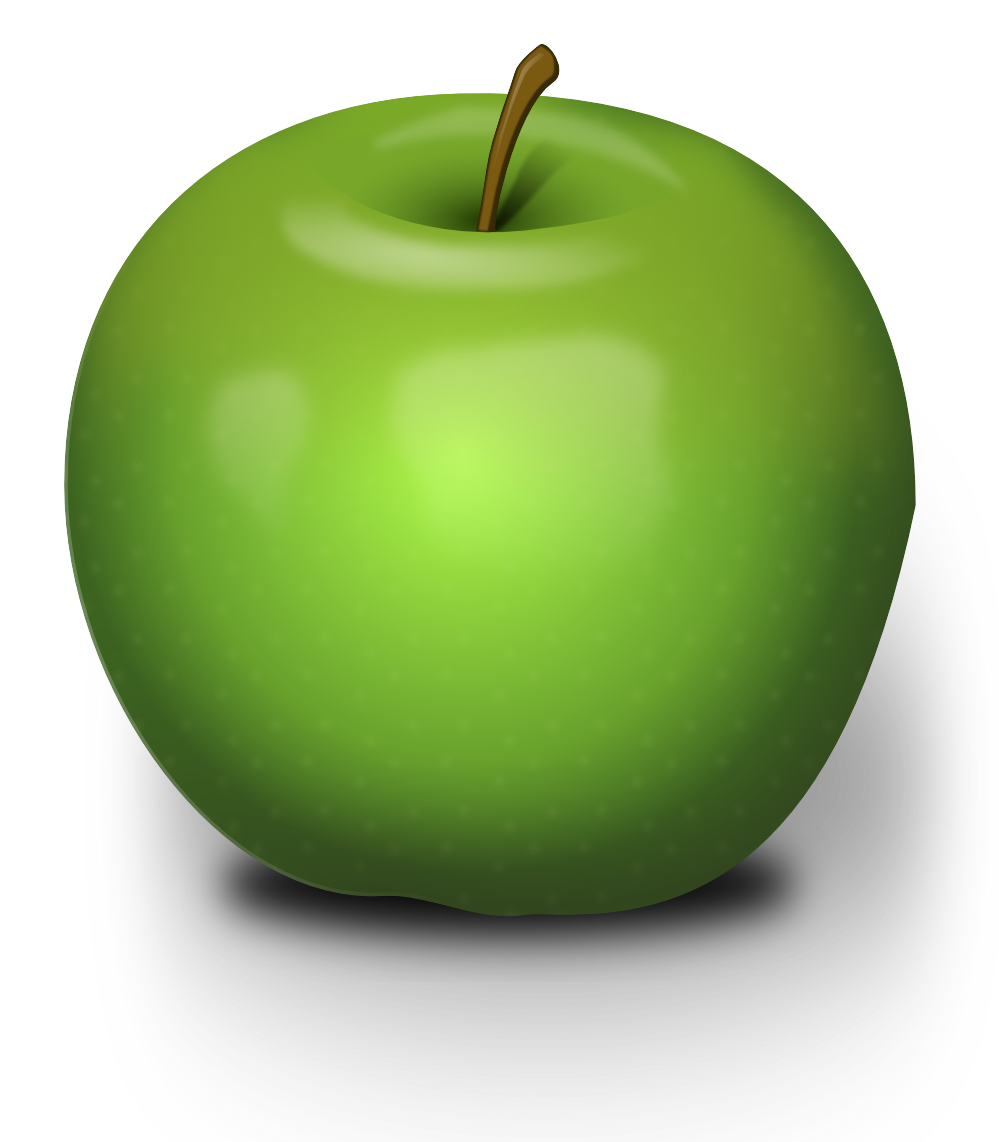Green Apple's PNG Image