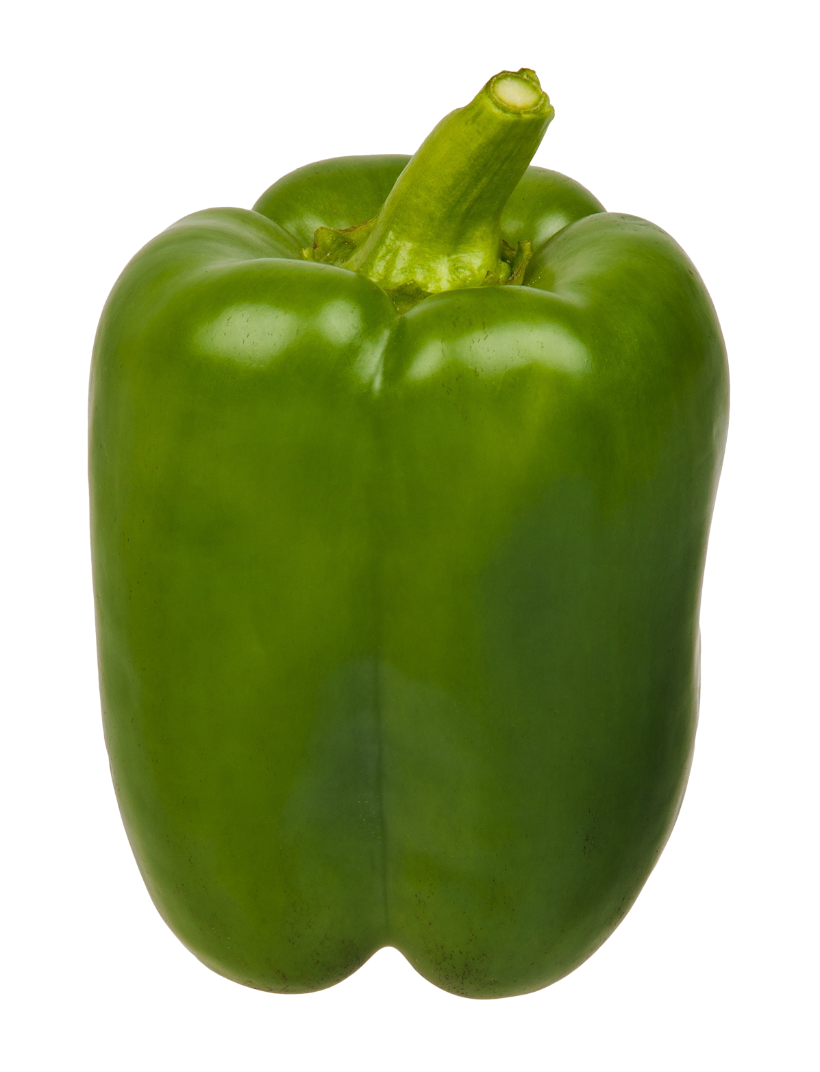 Green Bell Pepper PNG Image