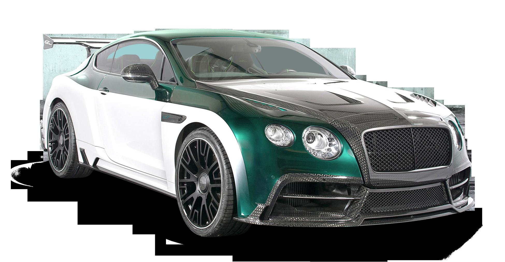 Green Bentley Continental GT Car