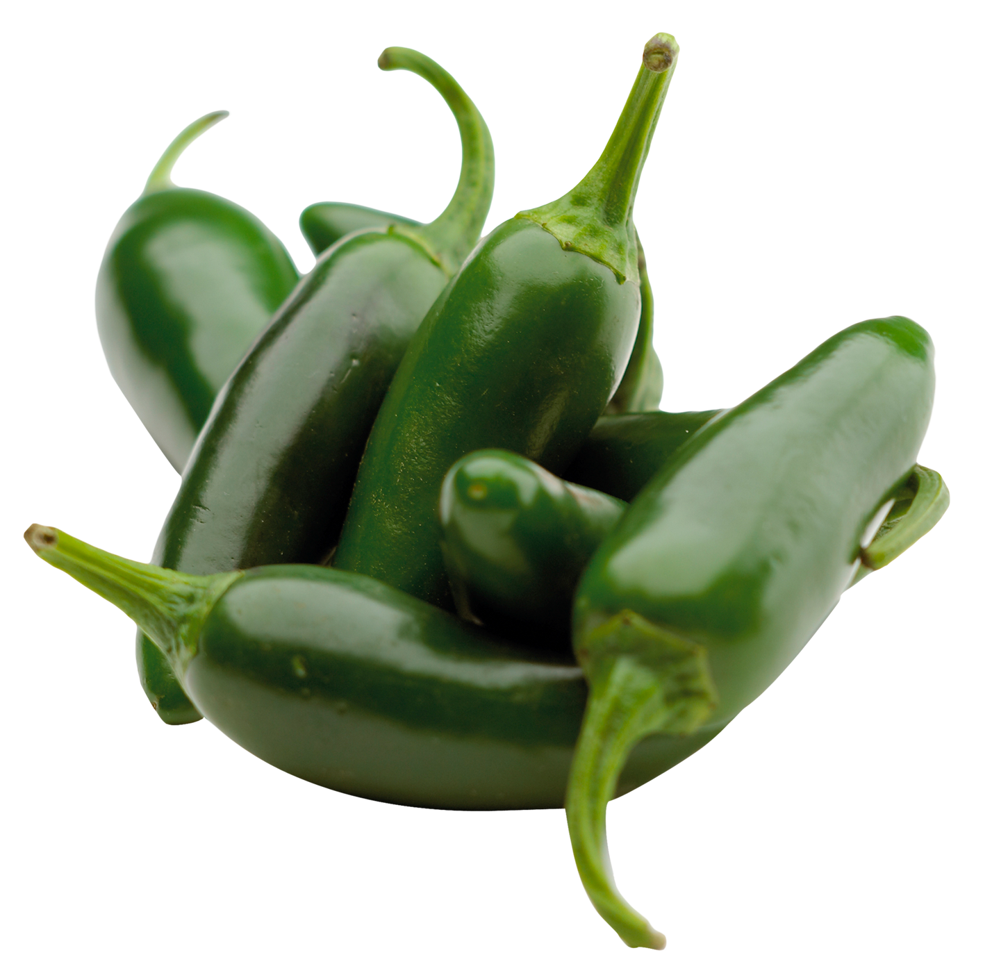 Green Chili Pepper PNG Image