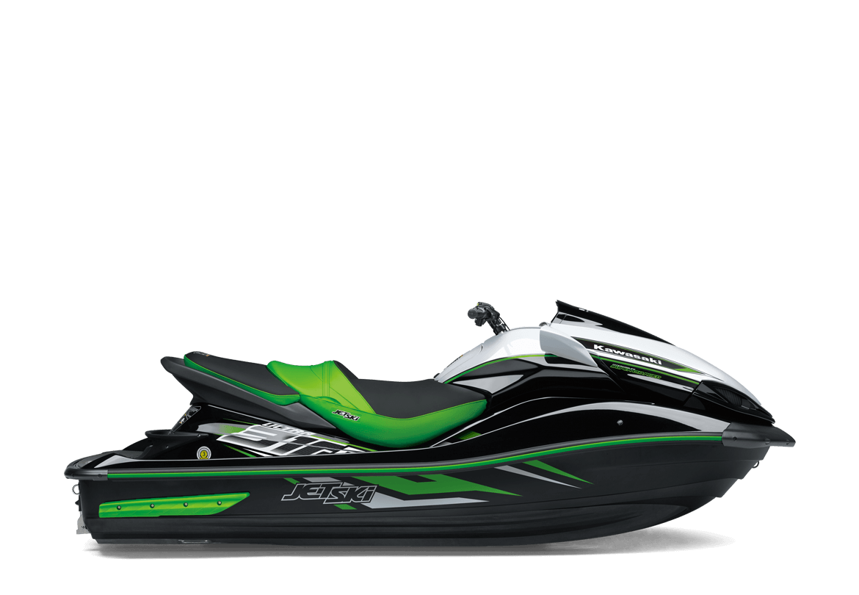 Green Jet Ski PNG Image