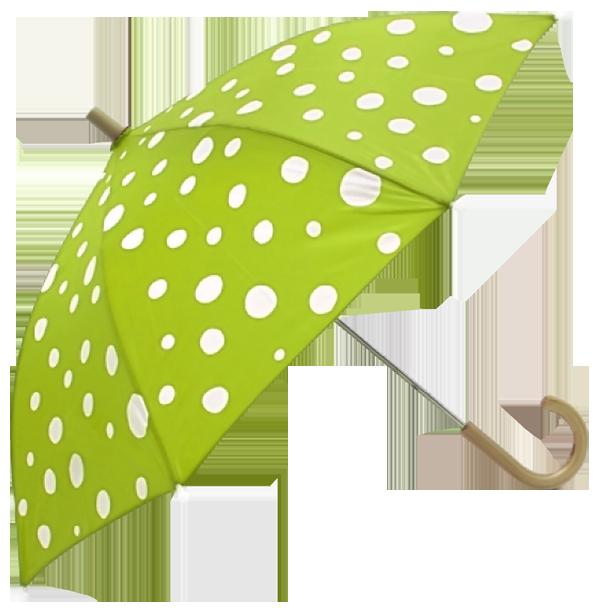 Green Printed Umbrela