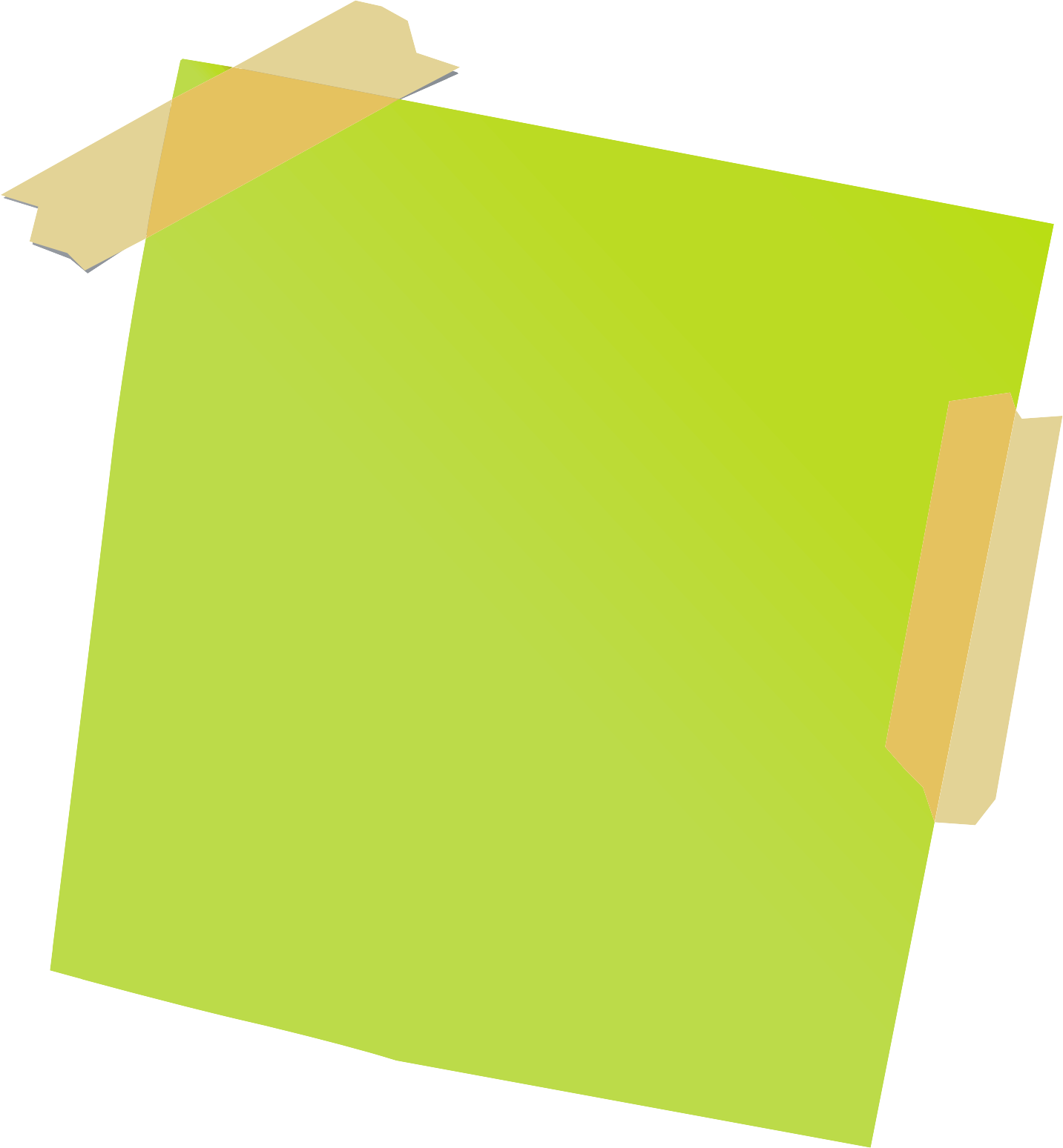 green sticky notes png image - purepng | free transparent cc0 png