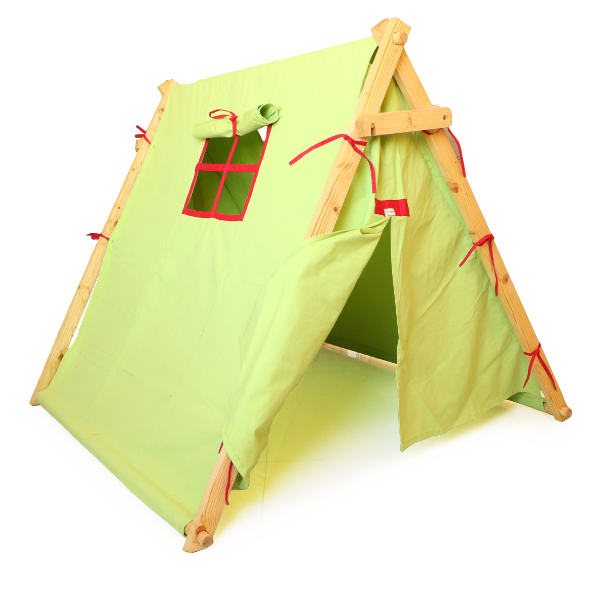 Green Tent PNG Image