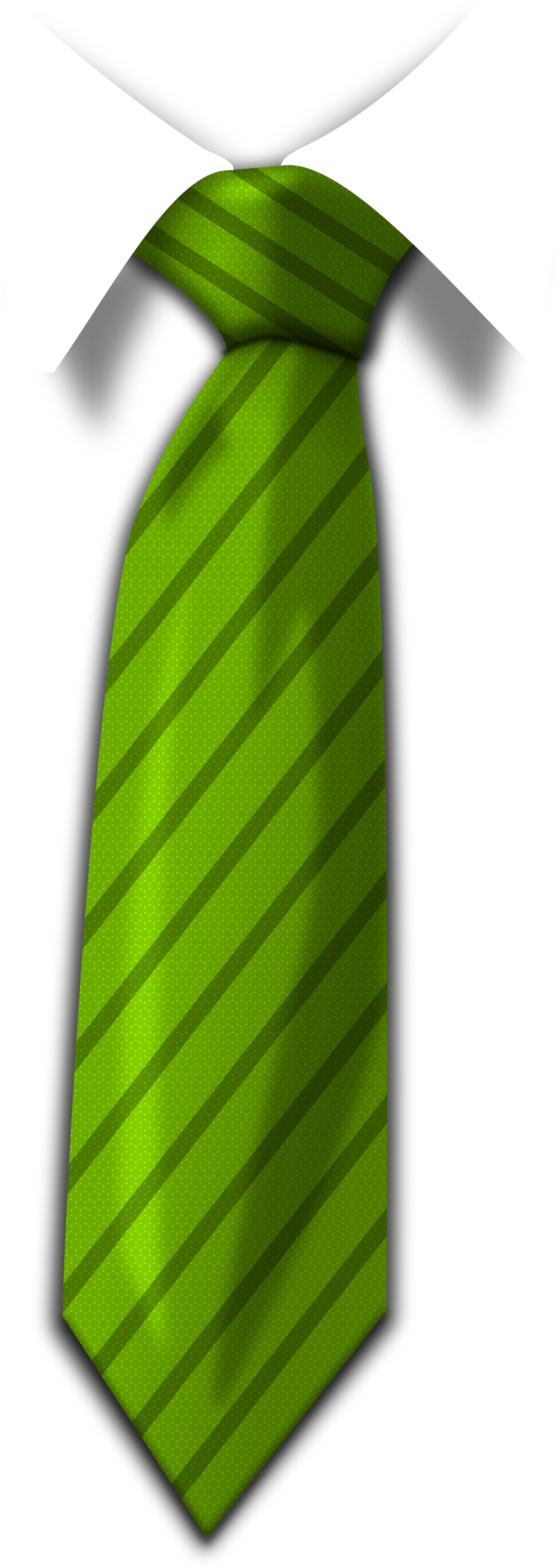 Green Tie PNG Image