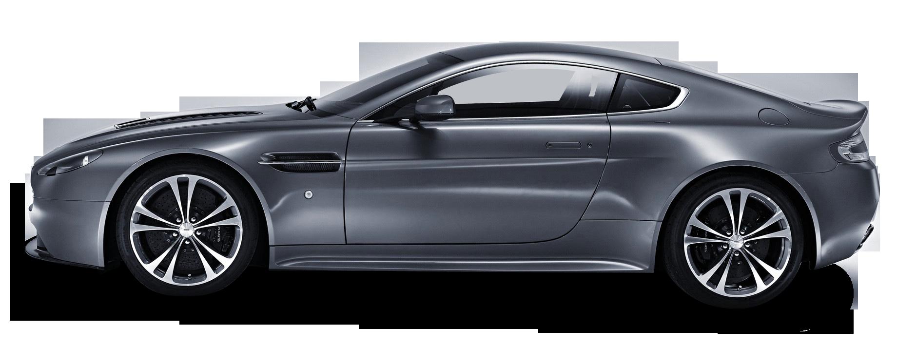 Grey Aston Martin V12 Vantage Luxury Car Png Image Purepng Free