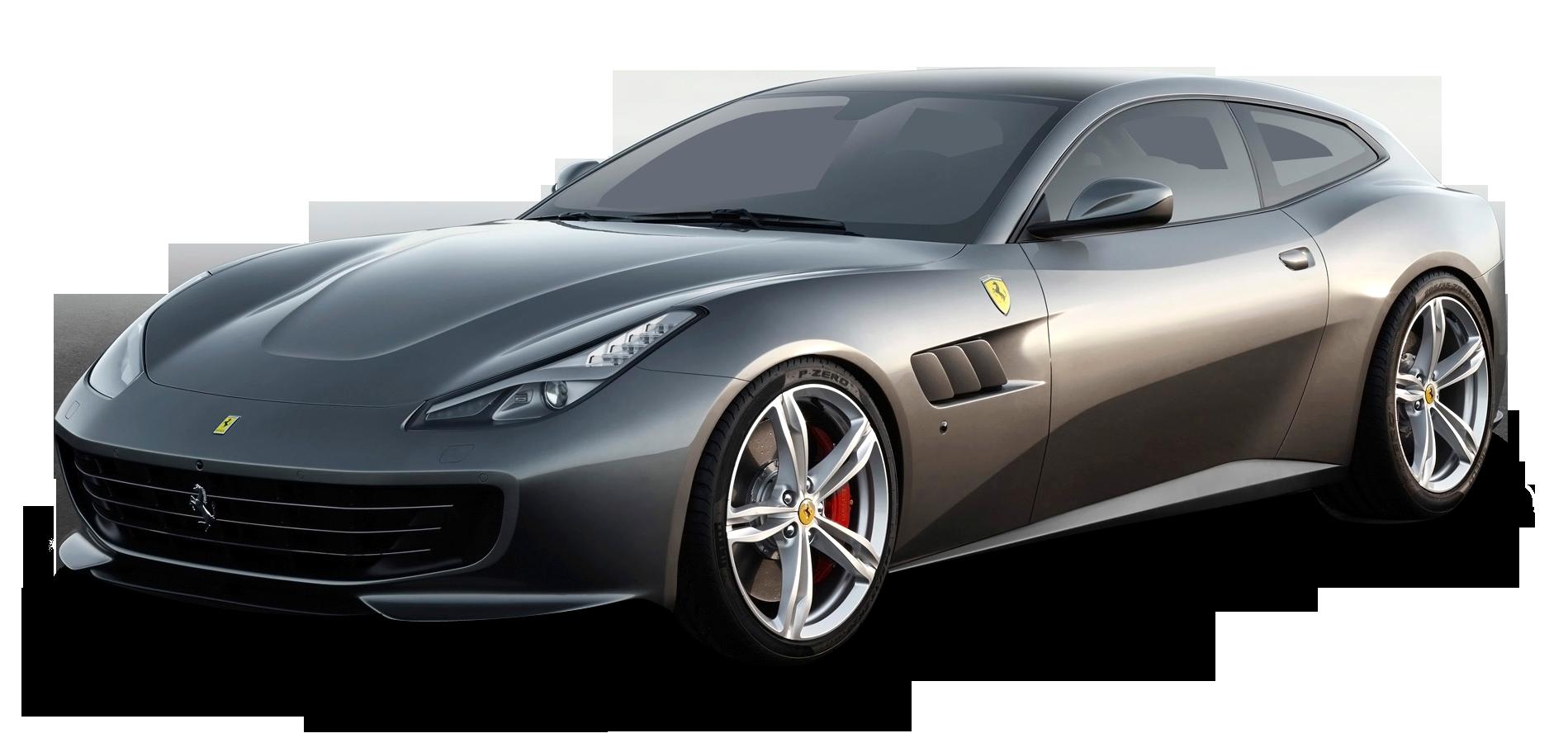 Grey Ferrari GTC4 Lusso Car