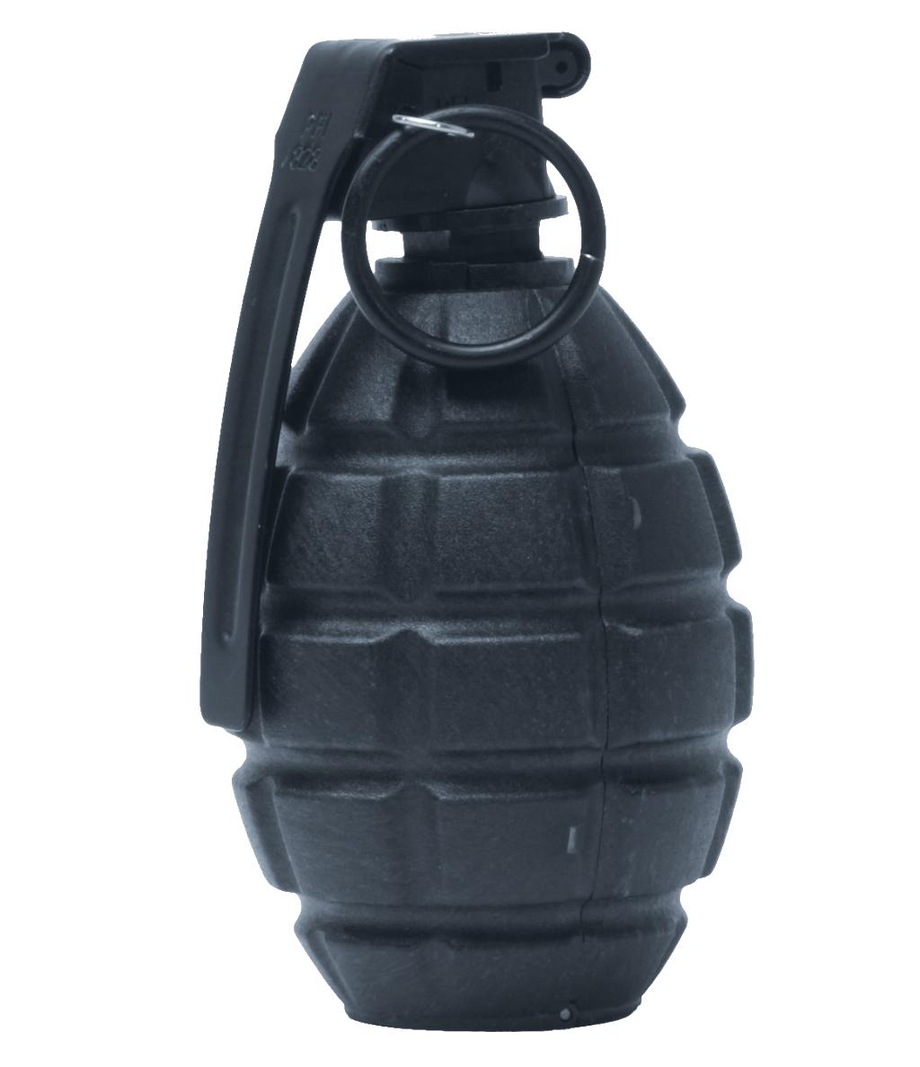Grey Hand Grenade PNG PNG Image