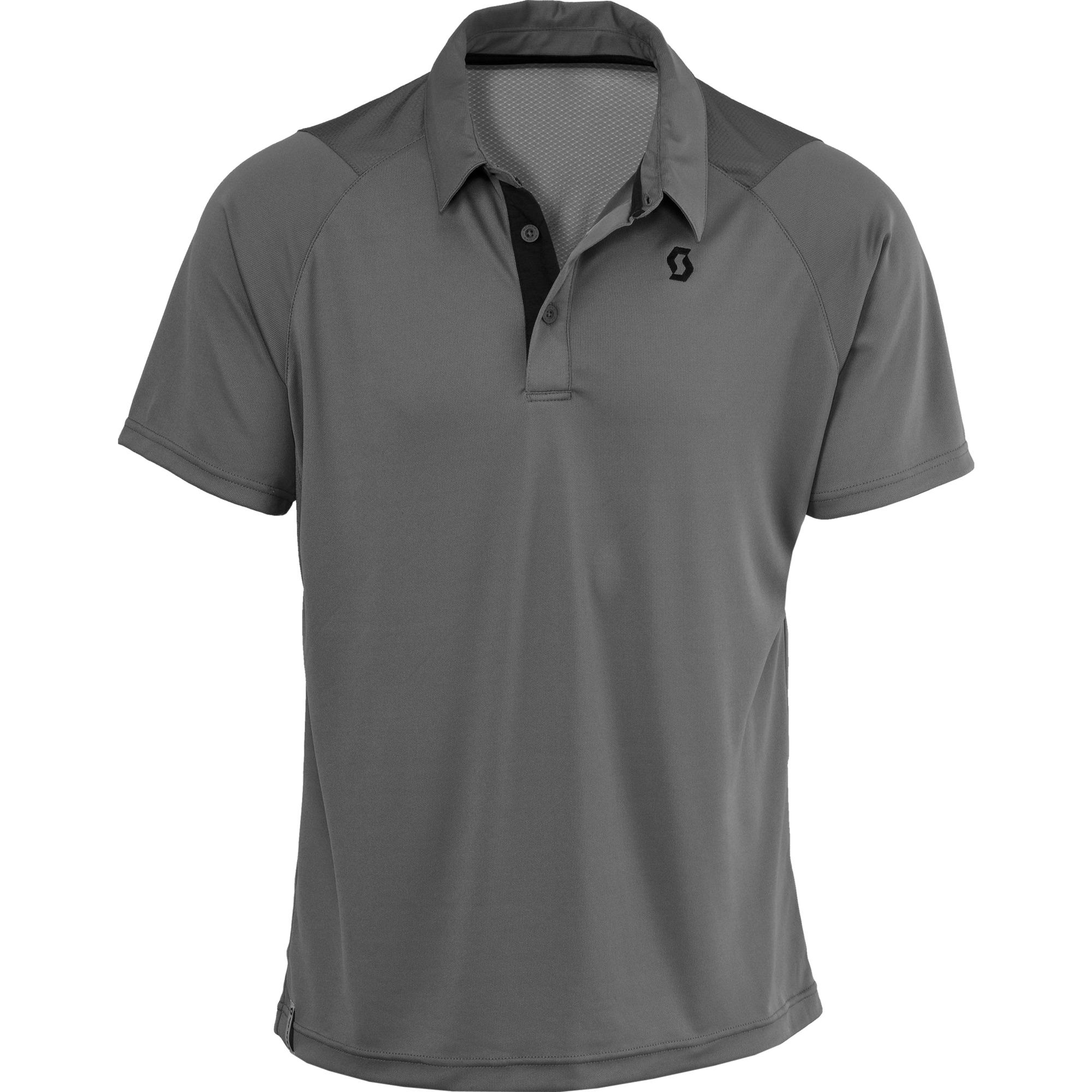 Grey Polo Shirt PNG Image