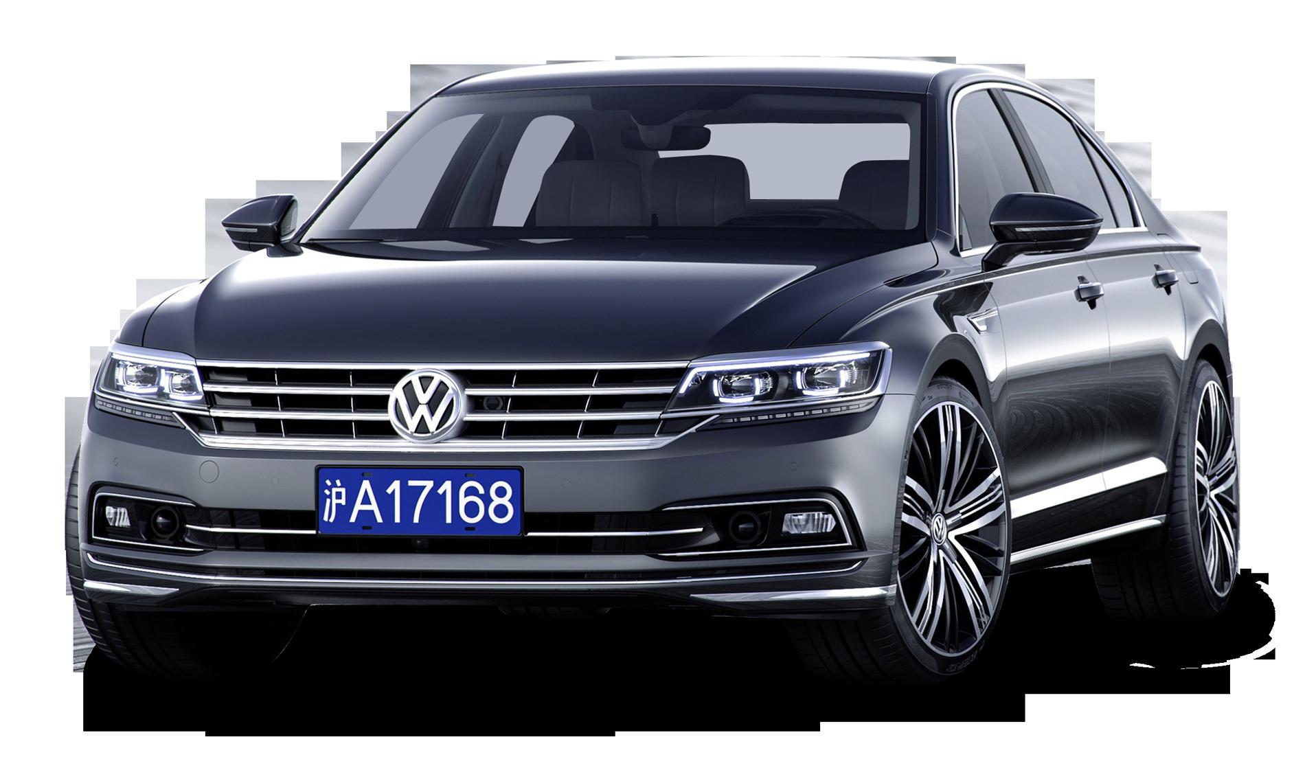Grey Volkswagen Phideon luxury Car