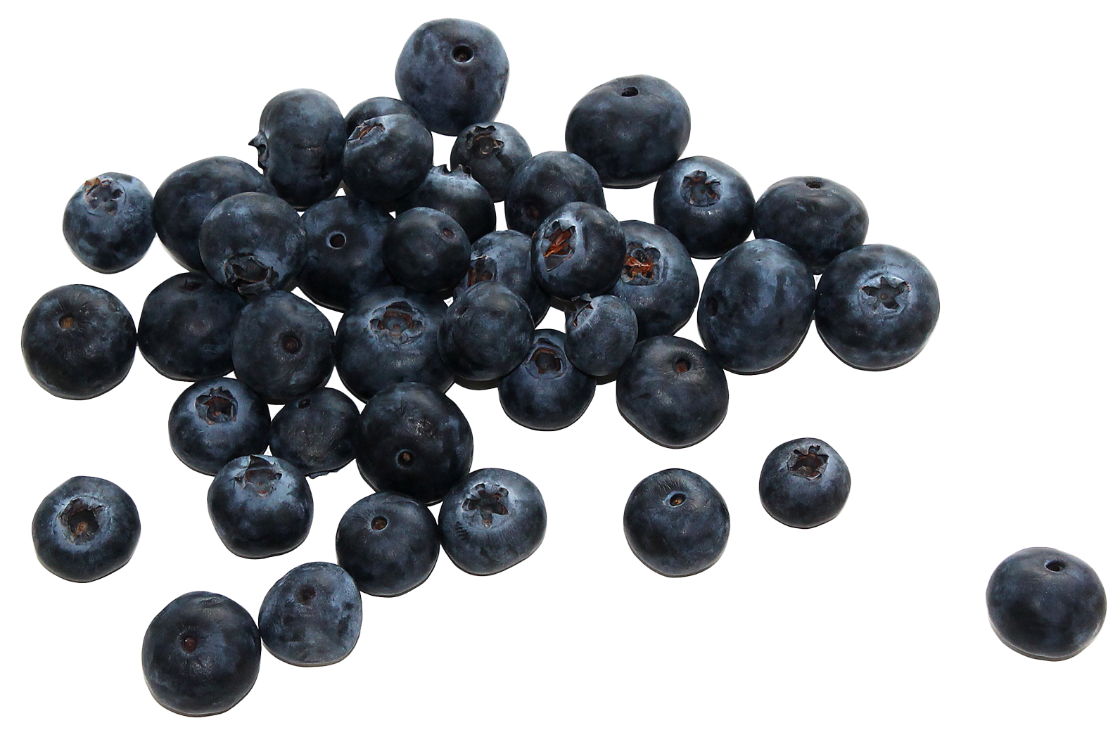 Group of Blueberries PNG Image
