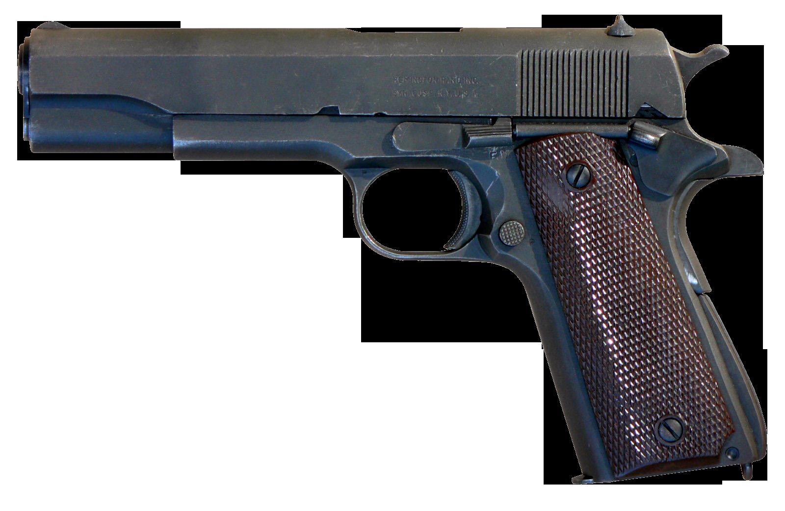 Gun Classic Type PNG Image