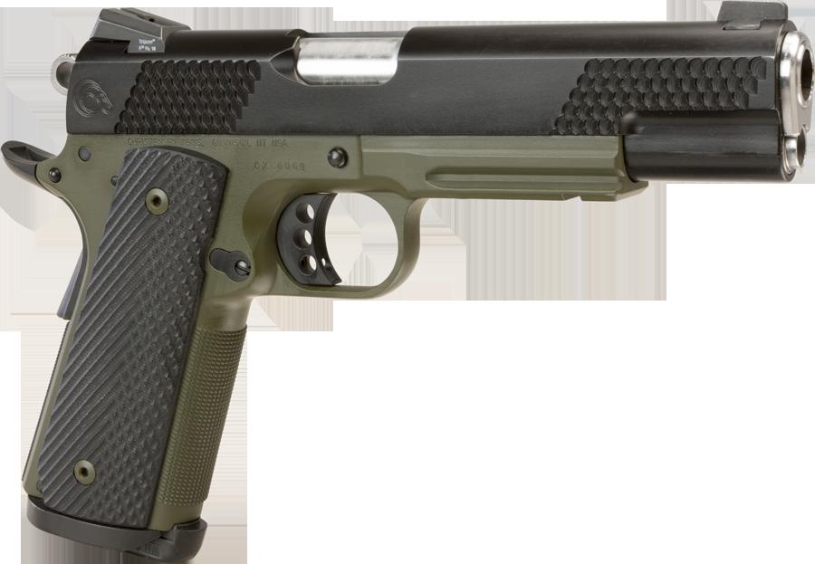 Gun Greenish PNG Image