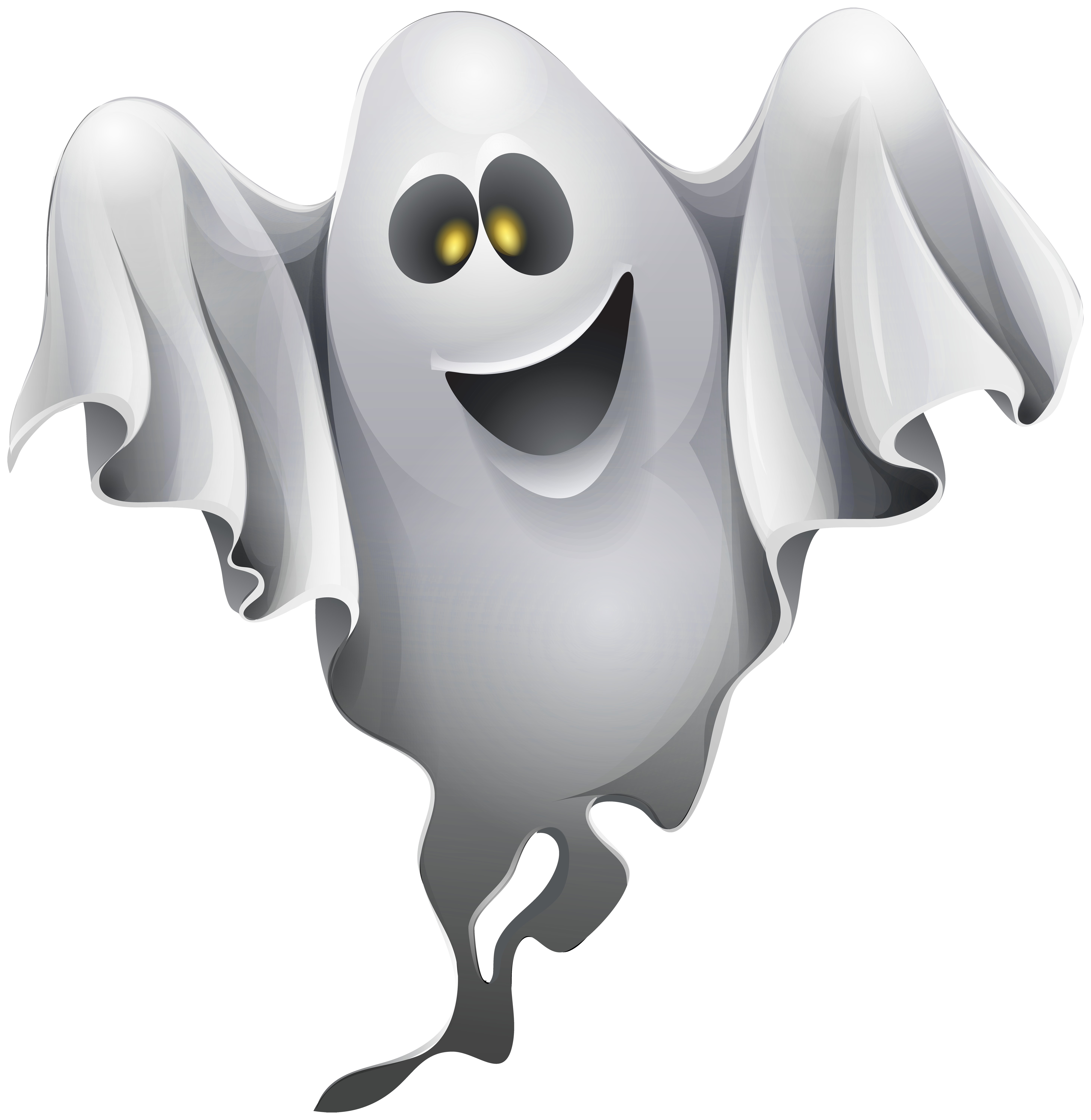Halloween Ghost Clipart PNG Image - PurePNG | Free ...