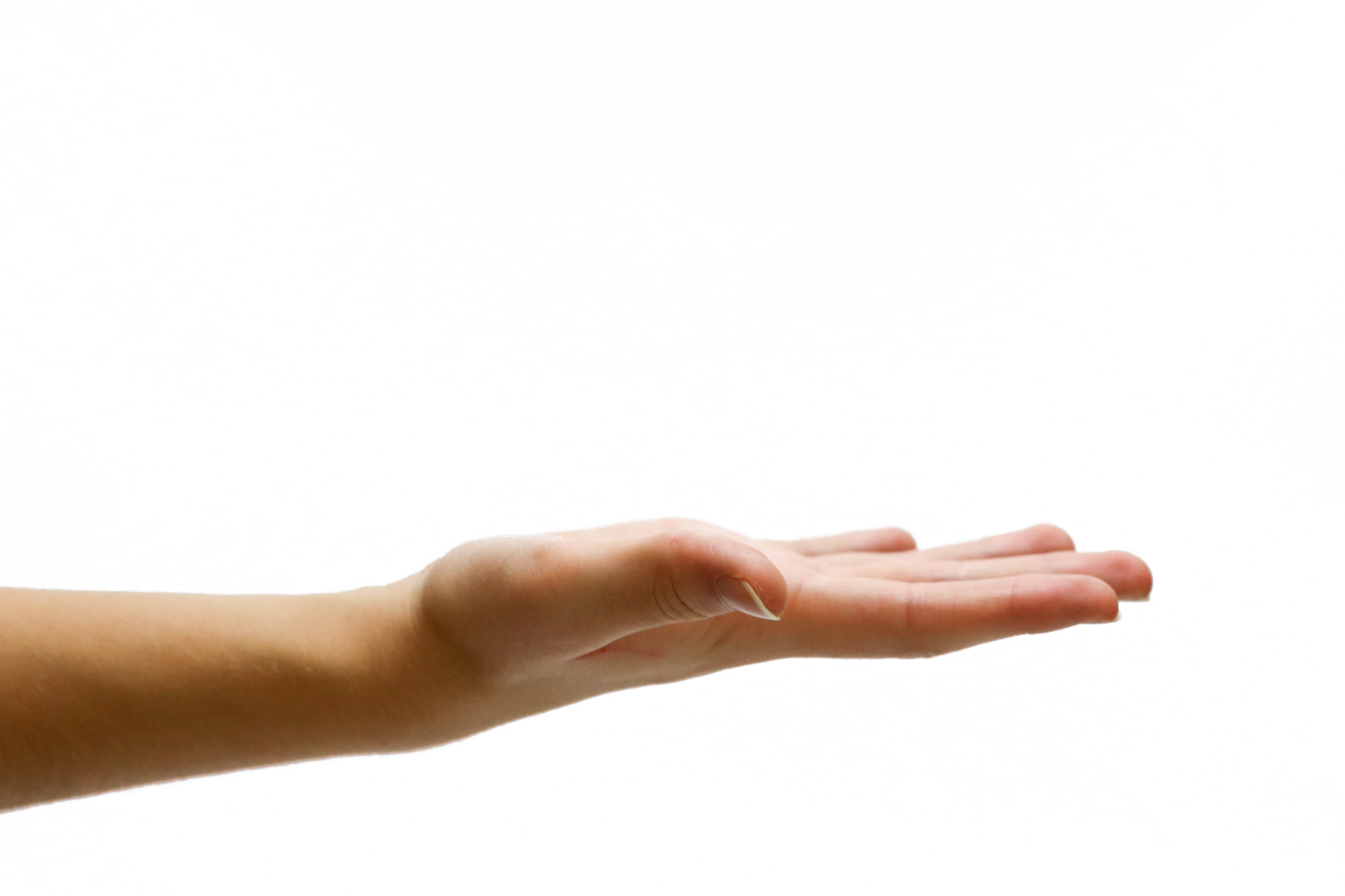 Hand Opened PNG Image