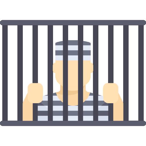 Hands Holding Prison