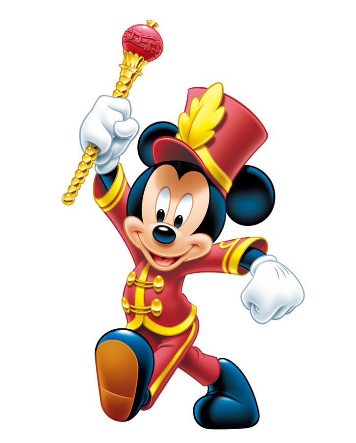 Happy Mickey PNG Image