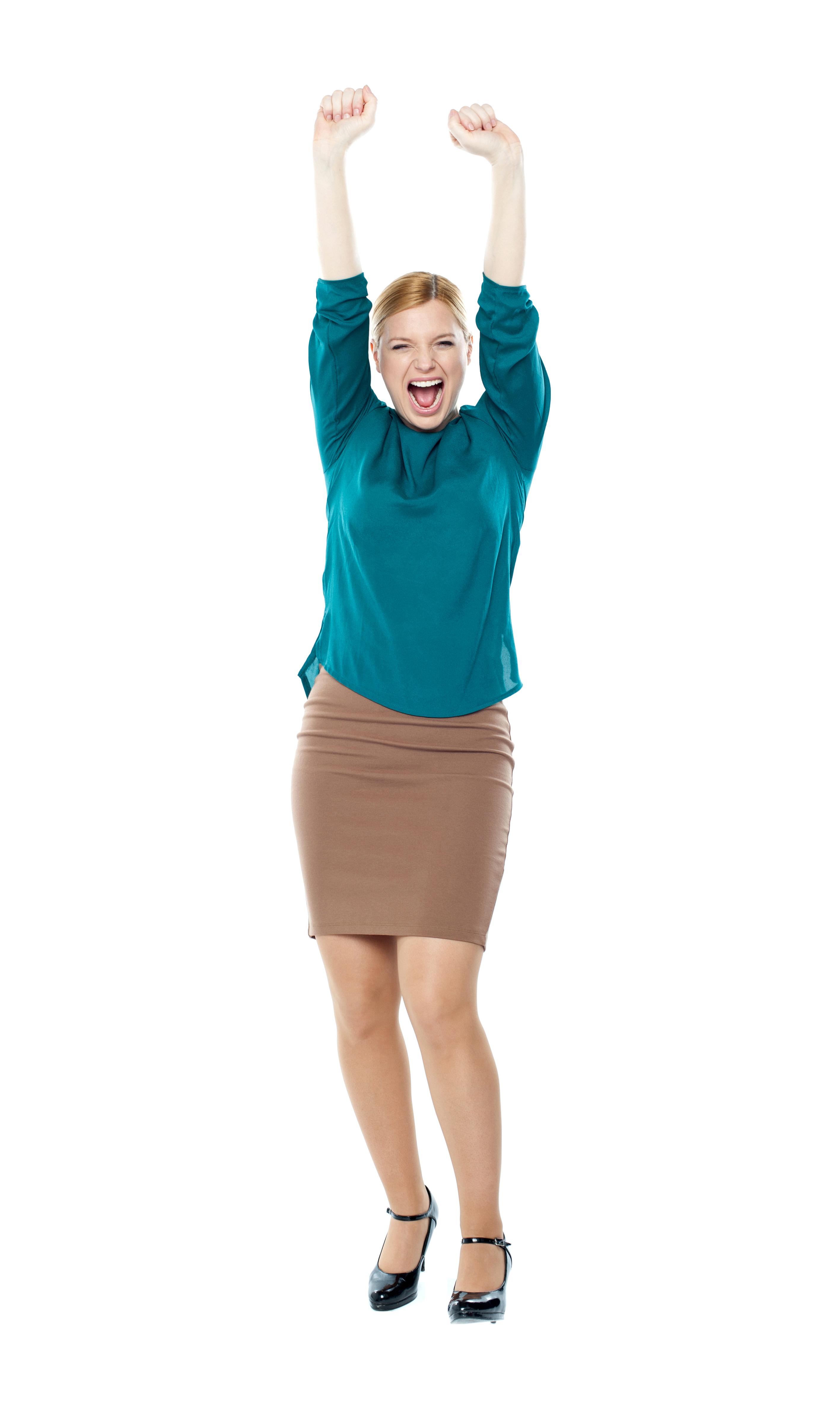 Happy Women PNG Image