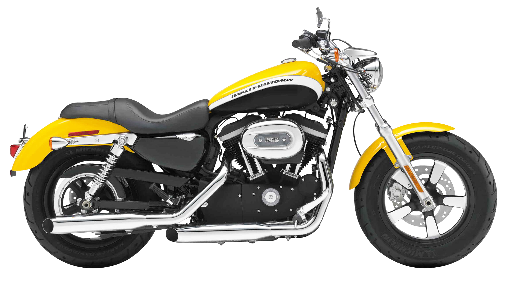 Harley Davidson 1200 Sportster PNG Image