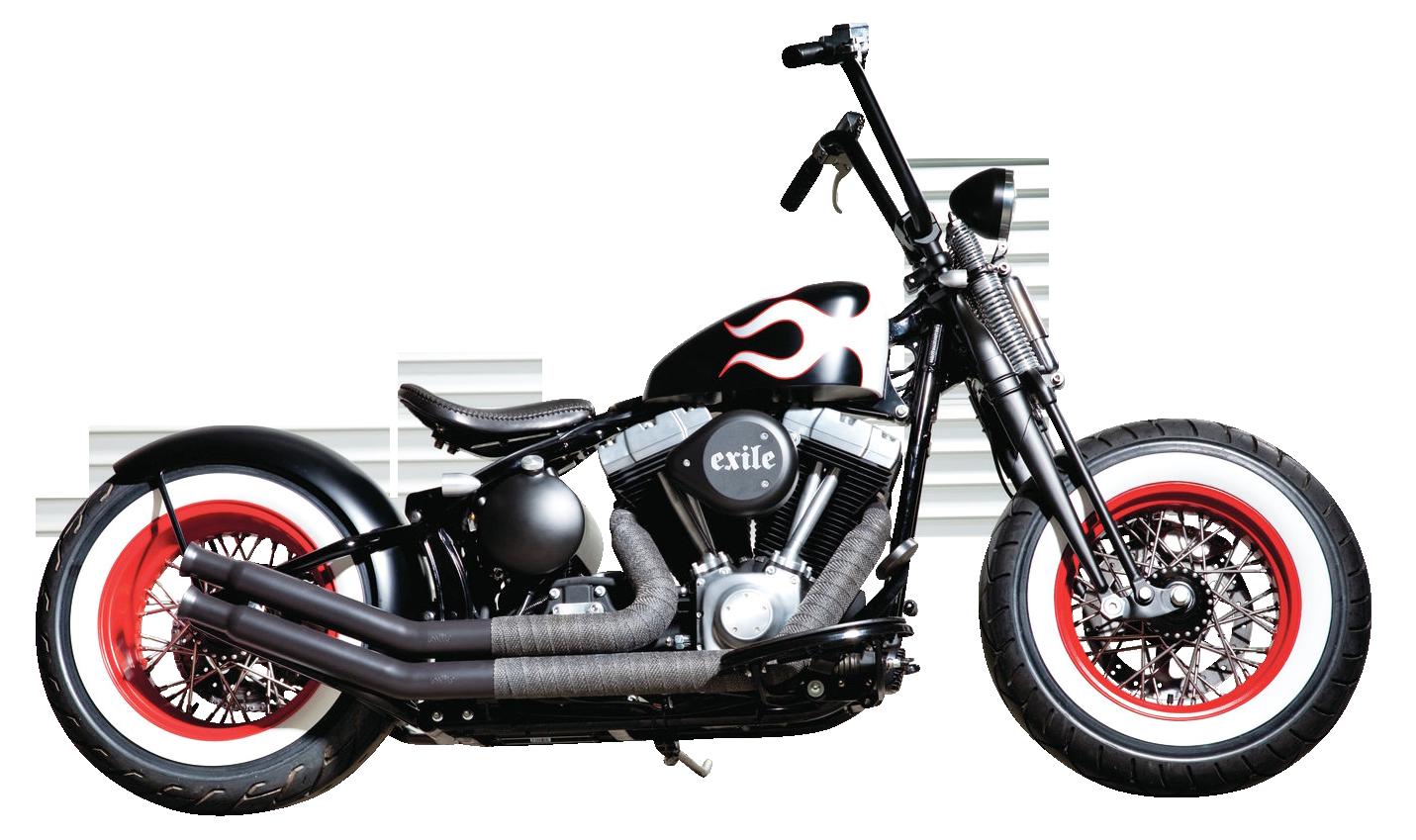 Harley Davidson Black PNG Image