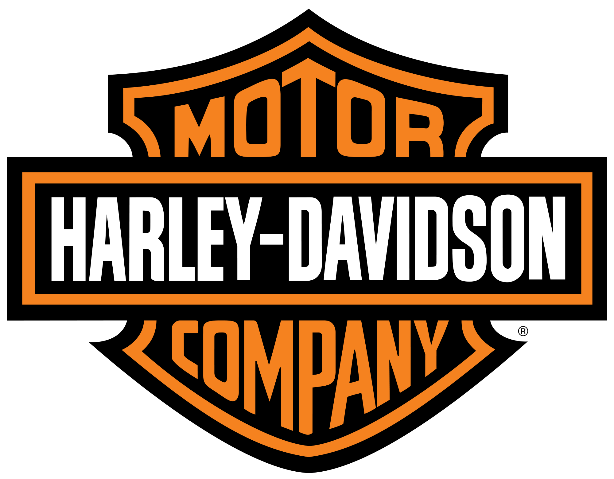 Harley Davidson Logo PNG Image