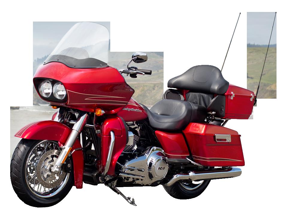 Harley Davidson Red PNG Image