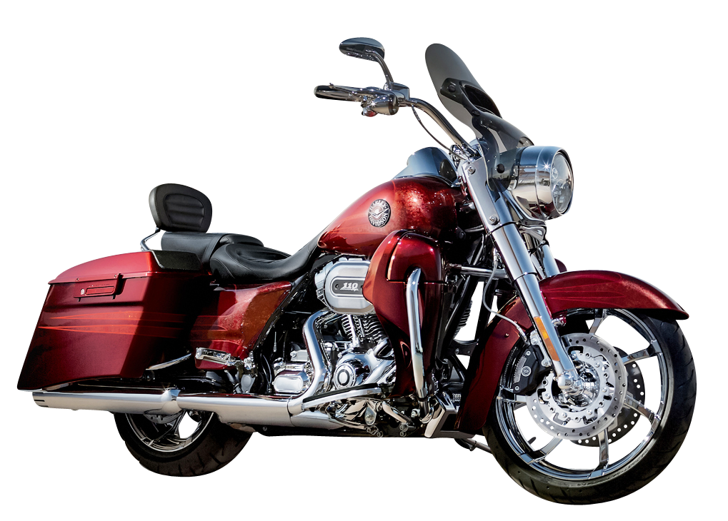 Harley Davidson Road King PNG Image
