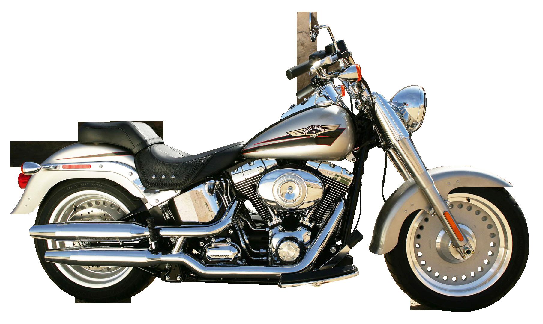 Harley Davidson Silver PNG Image