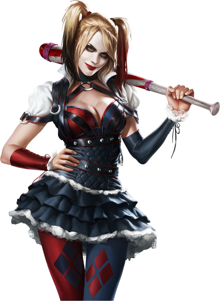 Harley Quinn Arkham Knight PNG Image