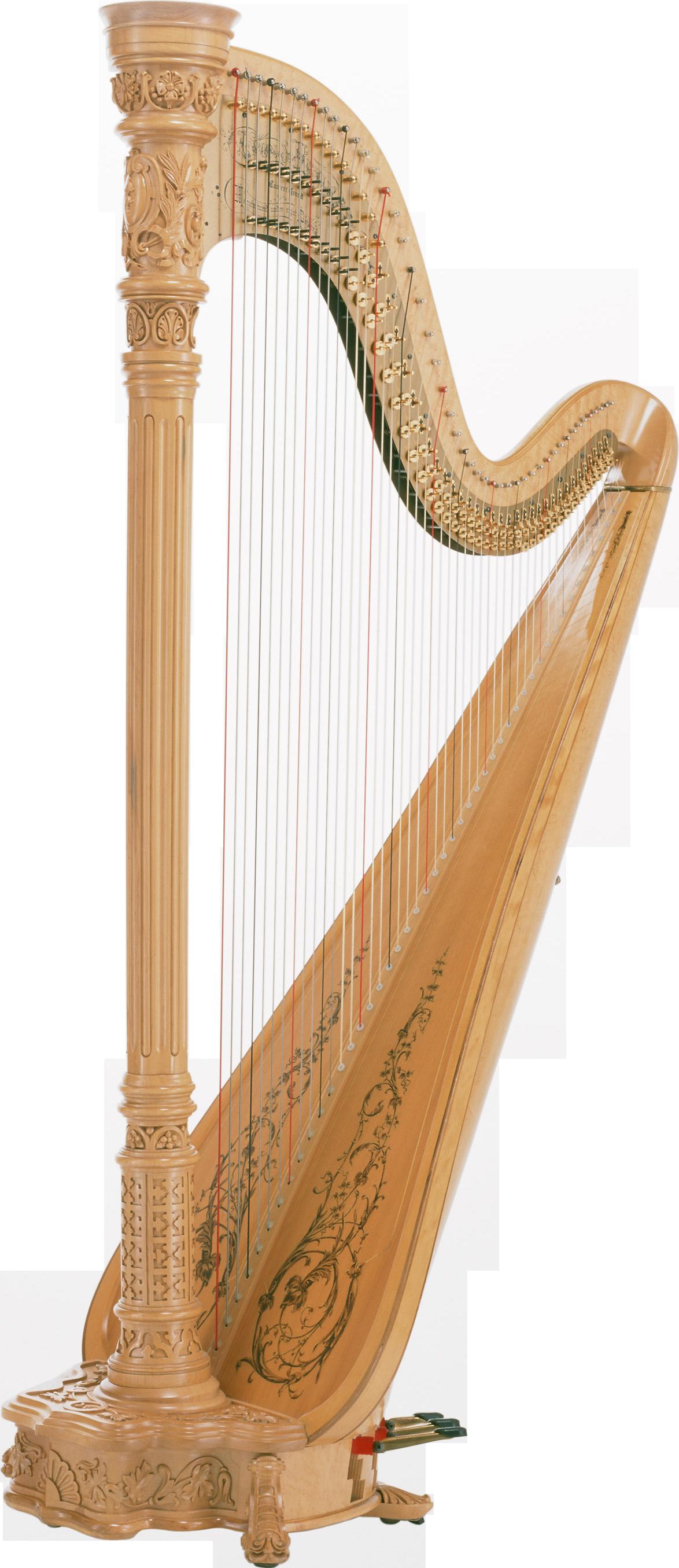 Harp PNG Image