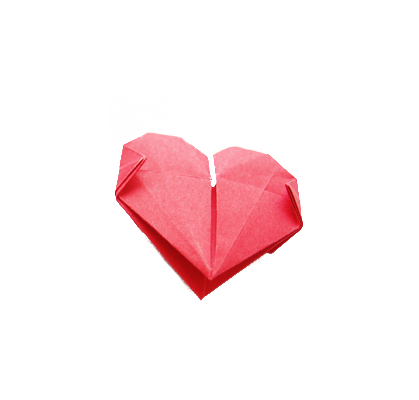 Heart-Shaped Origami