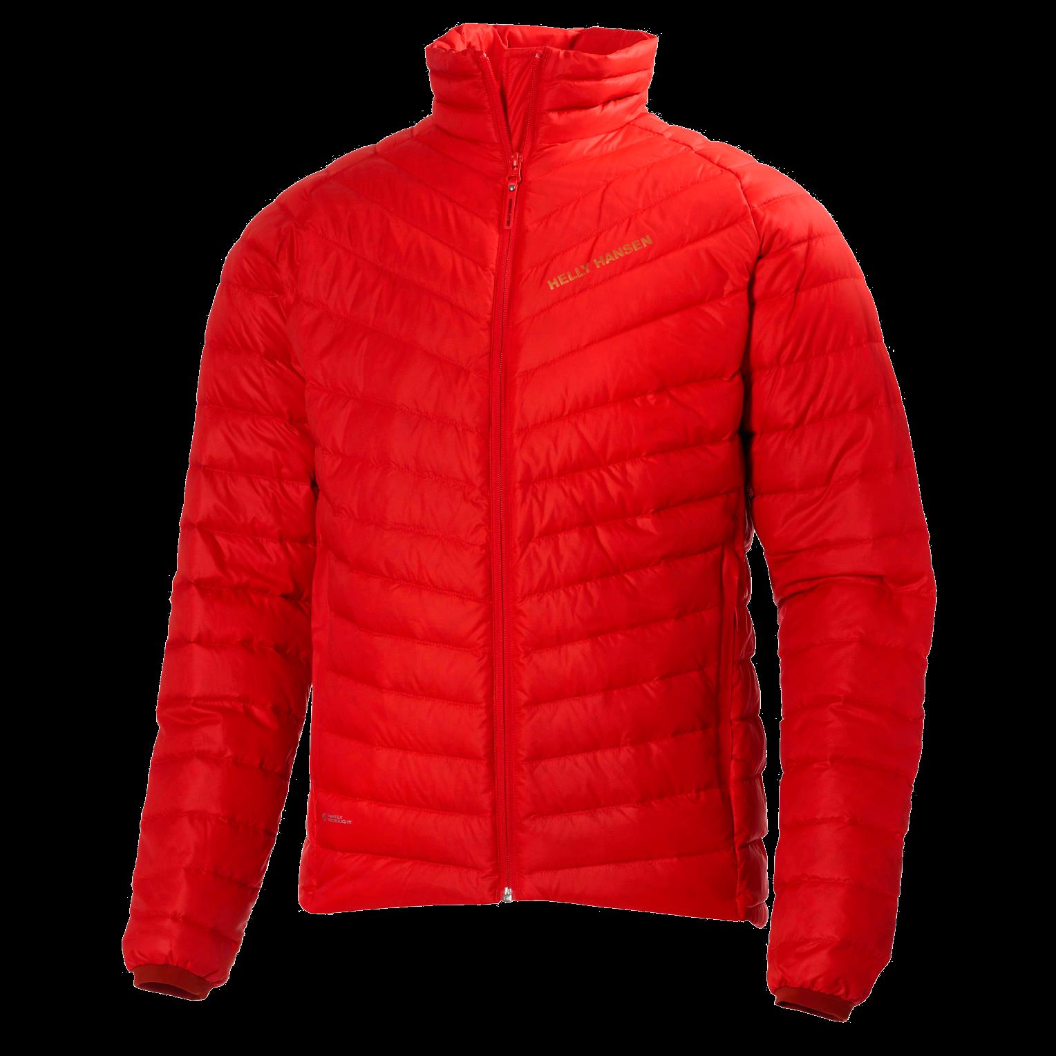 HH Verglas Down Insulator Red Jacket