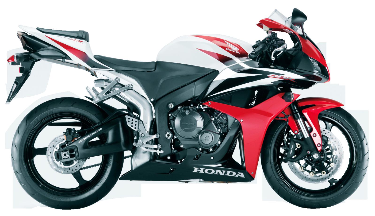 Honda CBR Red PNG Image