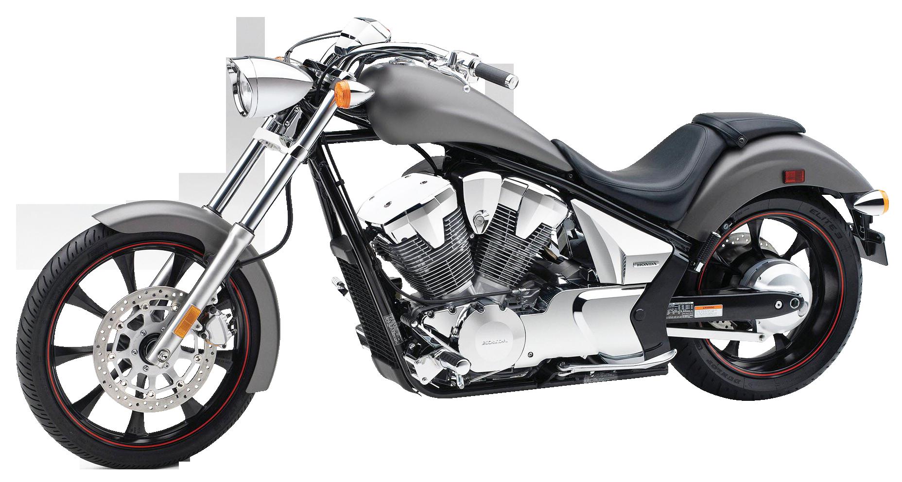 Honda Fury Gray PNG Image