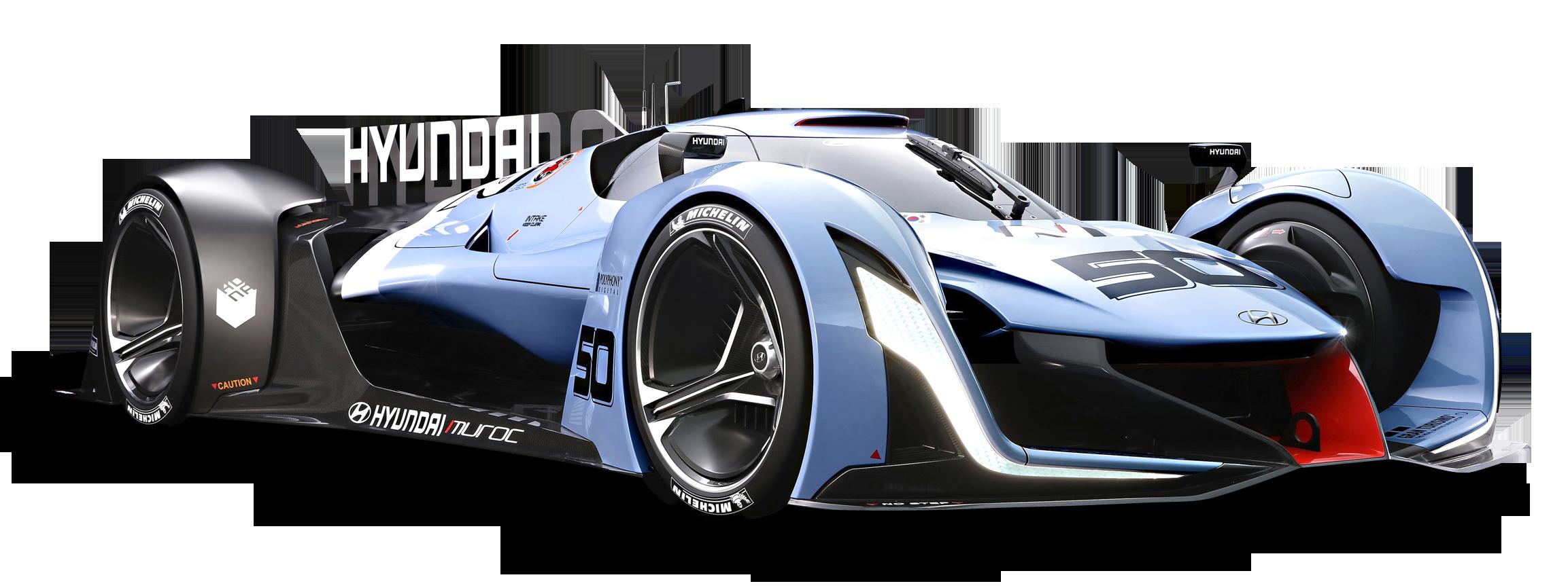 Hyundai N 2025 Vision Gran Turismo Blue Car